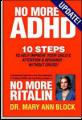 <i>No More ADHD</i>