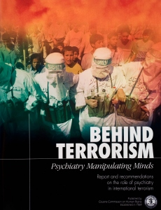 Behind Terrorism, Psychiatry Manipulating Minds