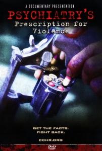 暴力を引き起こす精神医学の処方薬